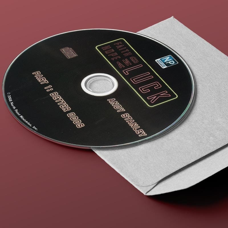Faith, Hope, and Luck CD Series | Is Your Faith in Christ or Circumstances? by Andy Stanley