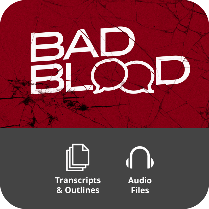 Bad Blood Basic Sermon Kit | 4-Part