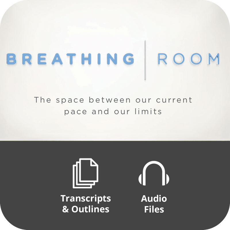 Breathing Room Basic Sermon Kit | 4-Part