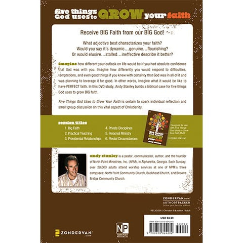 Five Things God Uses to Grow Your Faith Study Guide