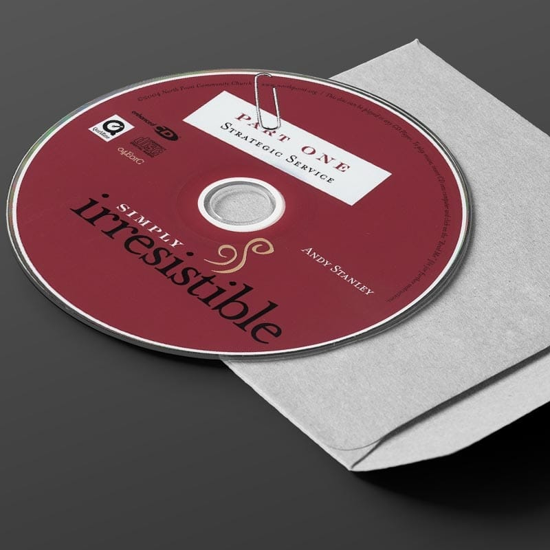 Simply Irresistible CD Series by Andy Stanley & Reggie Joiner