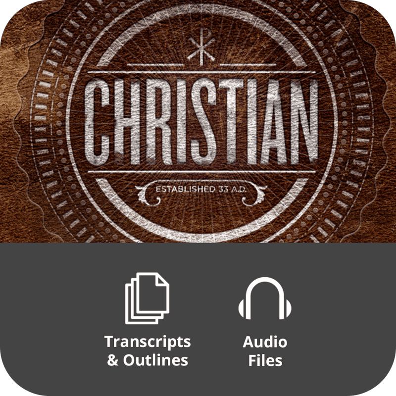 Christian Basic Sermon Kit | 8-Part