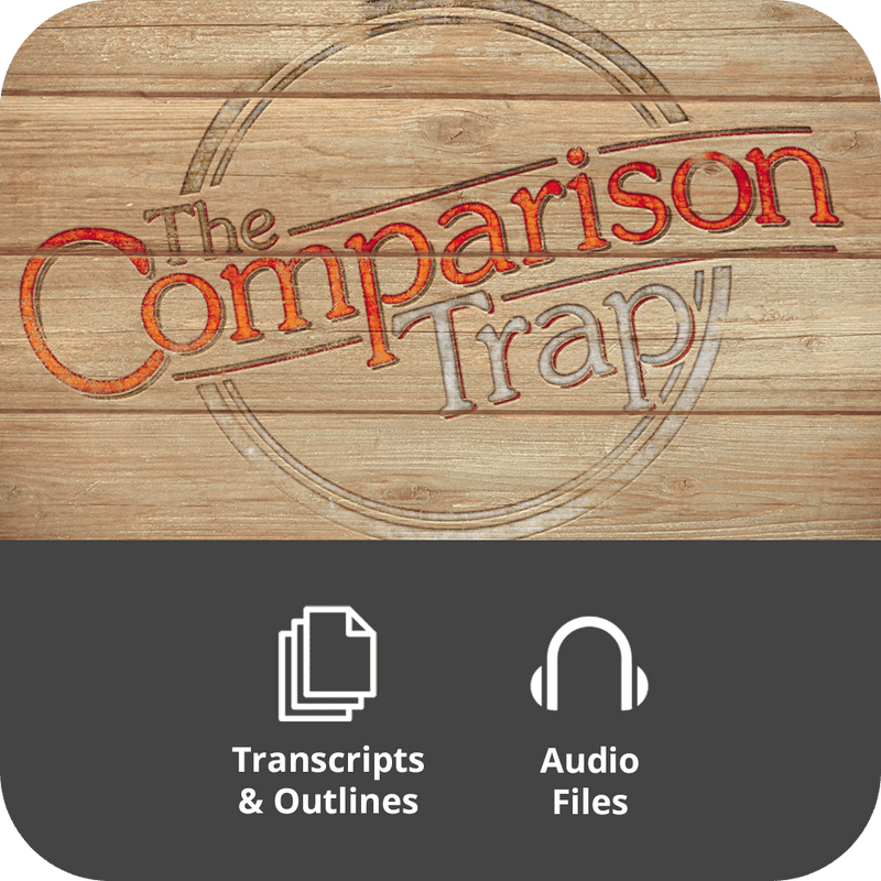 Comparison Trap Basic Sermon Kit | 3-Part
