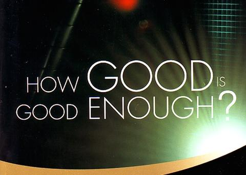 How Good Is Good Enough Audio Download