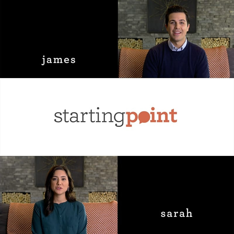 Starting Point Promo Video | James and Sarah