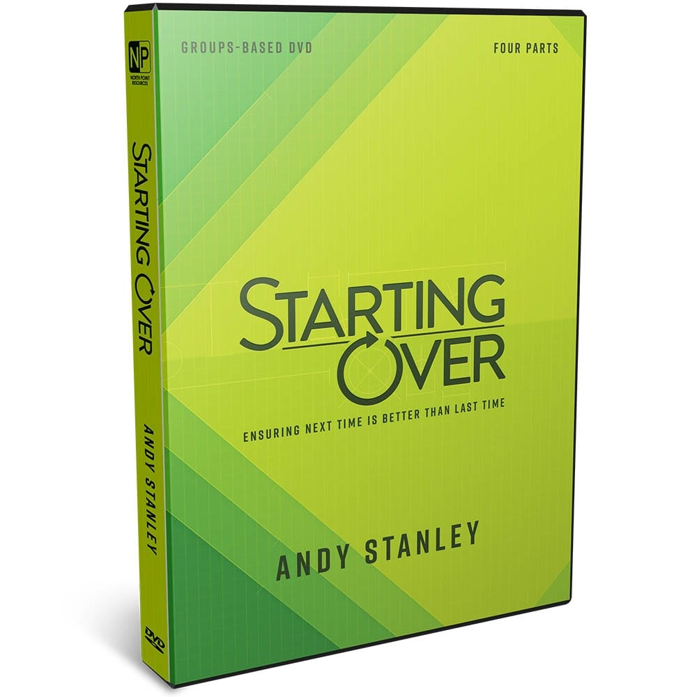 Starting Over Groups DVD by Andy Stanley