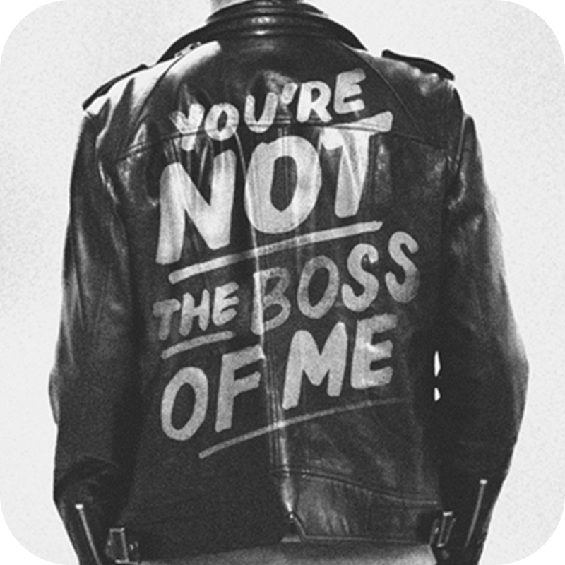 You're Not The Boss Of Me Audio Download
