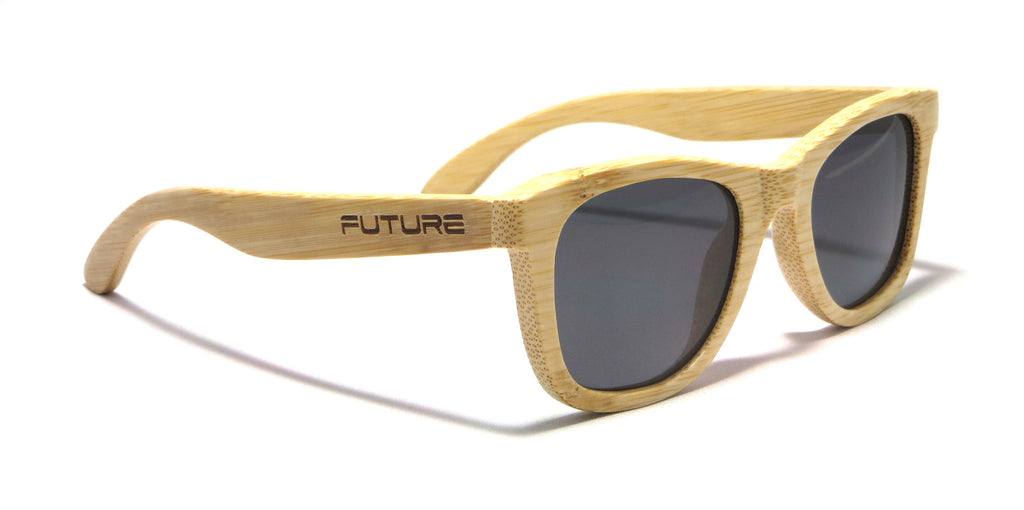 Full Bamboo & Polarized Midnight Black - Future-Wear - Carbon Sunglasses