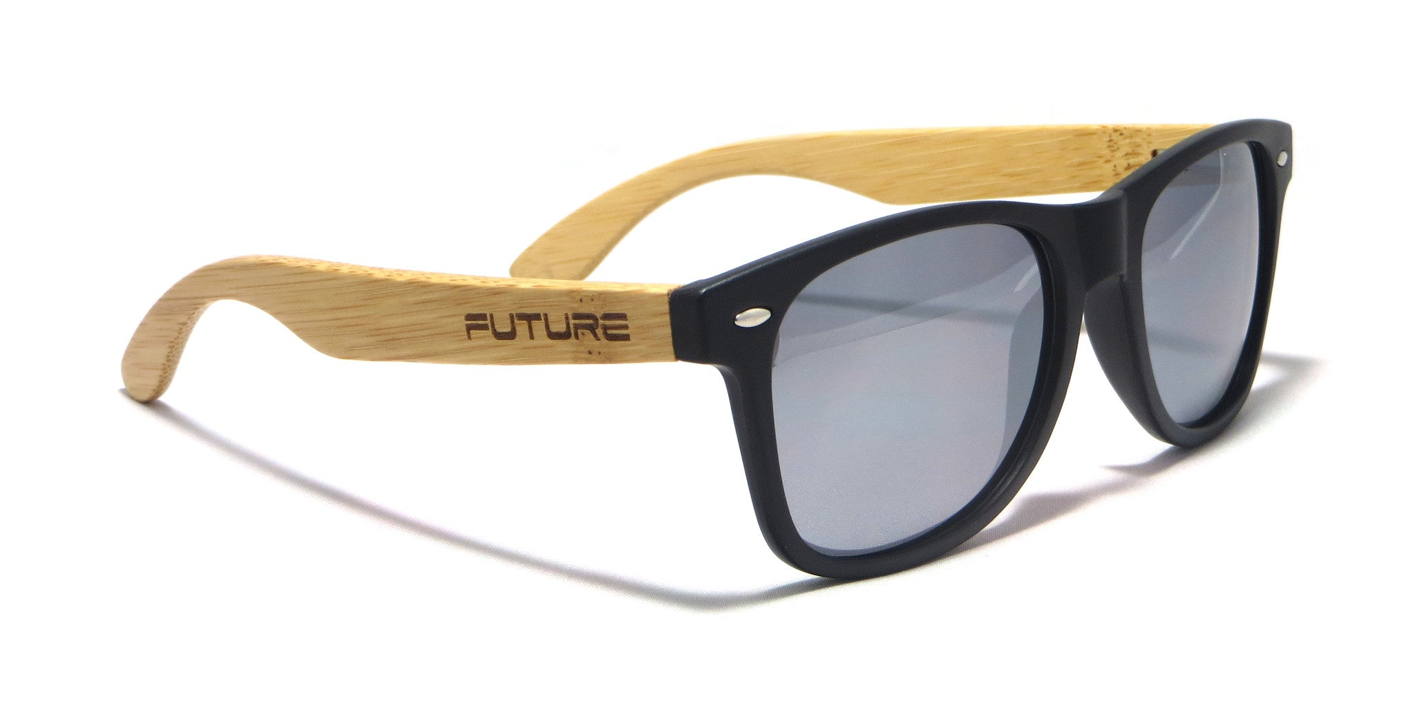 Black & Polarized Steel - Future Originals - Future-Wear - Carbon Sunglasses
