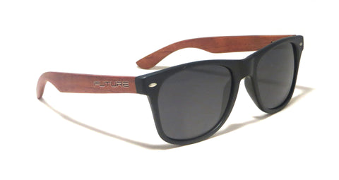 Rosewood / Black & Polarized Midnight Black - Future-Wear - Carbon Sunglasses