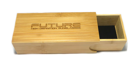 Future Bamboo Sliding Case - Future-Wear - Carbon Sunglasses