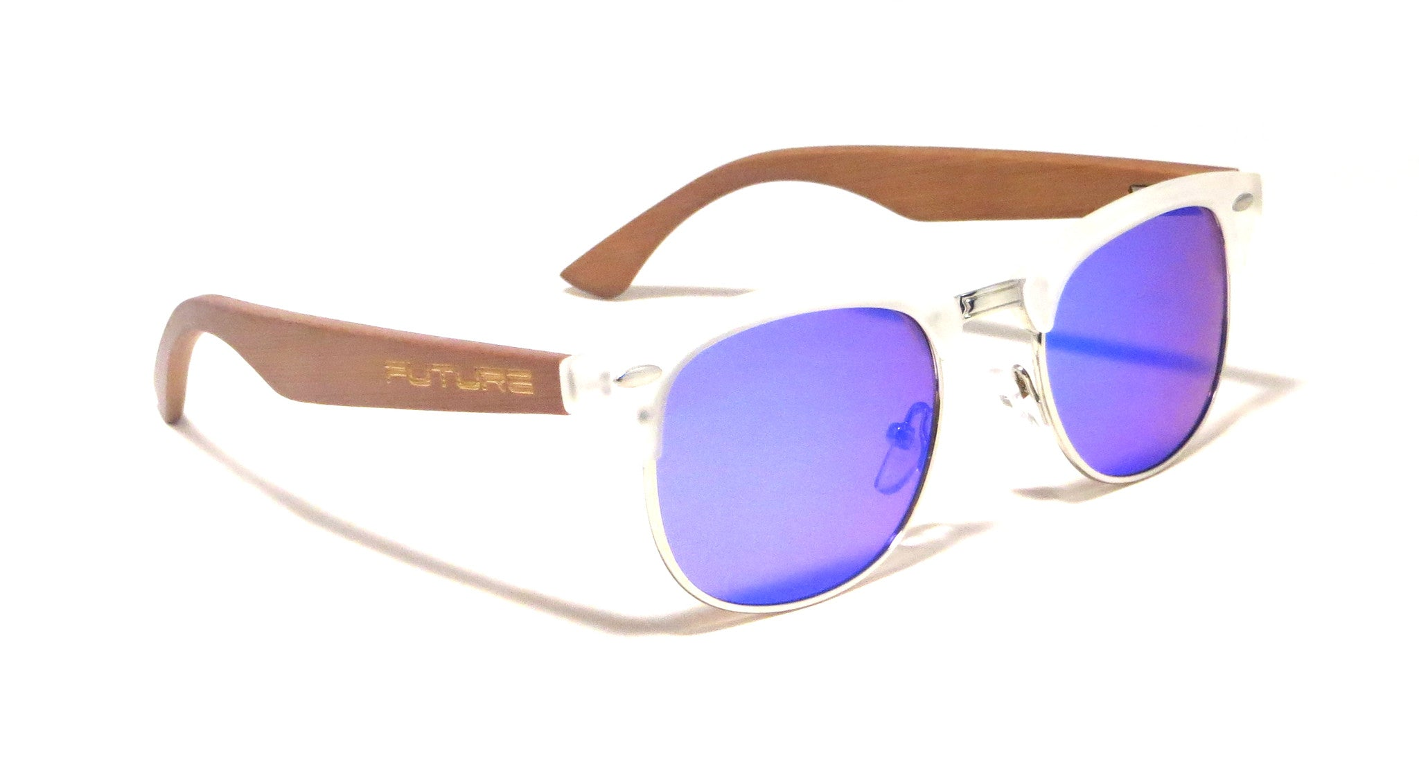 Translucent & Polarized Amethyst Blue - Future Timeless - Future-Wear - Carbon Sunglasses