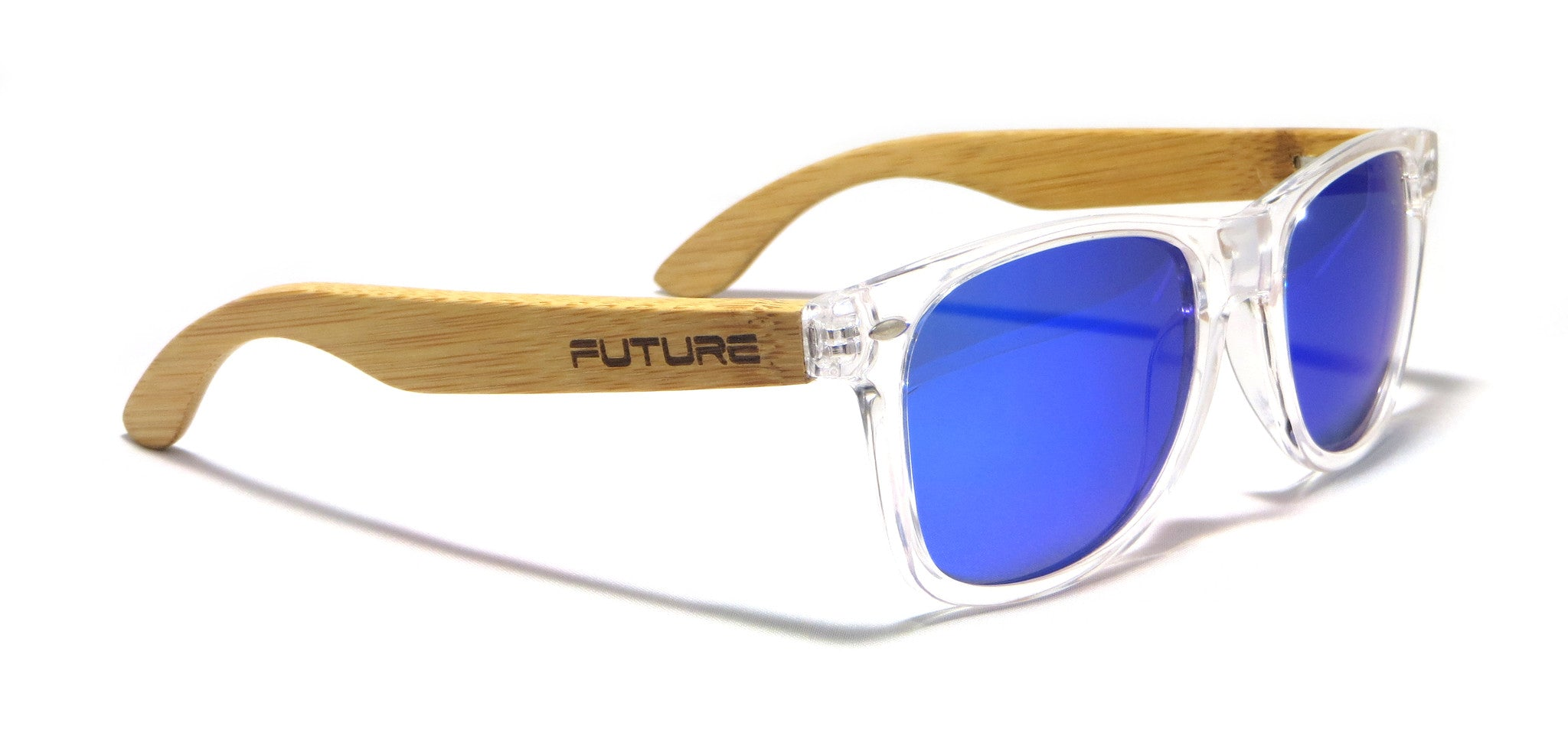 Translucent & Polarized Cobalt Blue - Future Originals - Future-Wear - Carbon Sunglasses