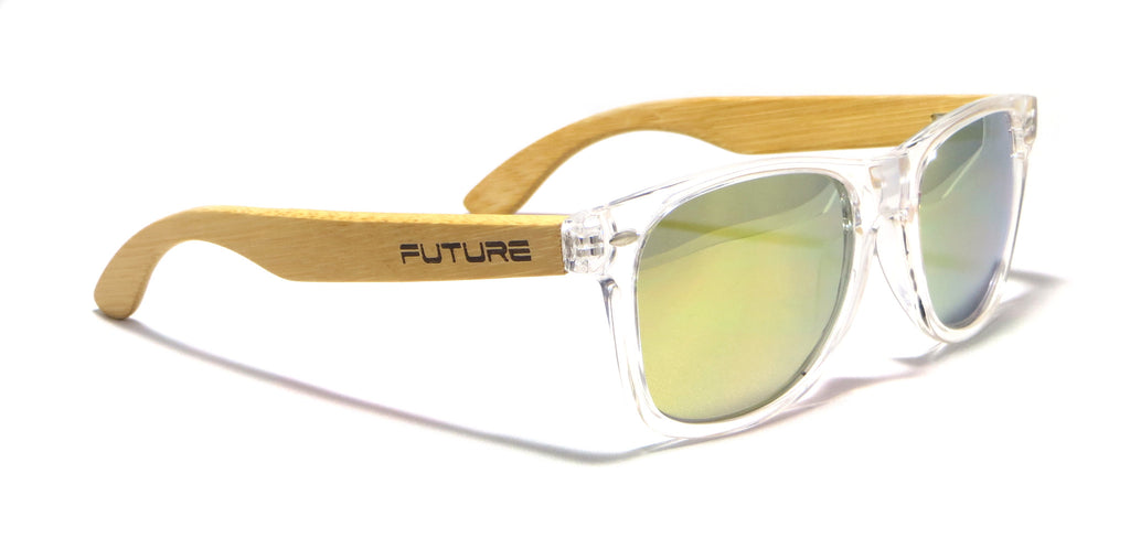 Translucent & Polarized Pure Gold - Future Originals - Future-Wear - Carbon Sunglasses