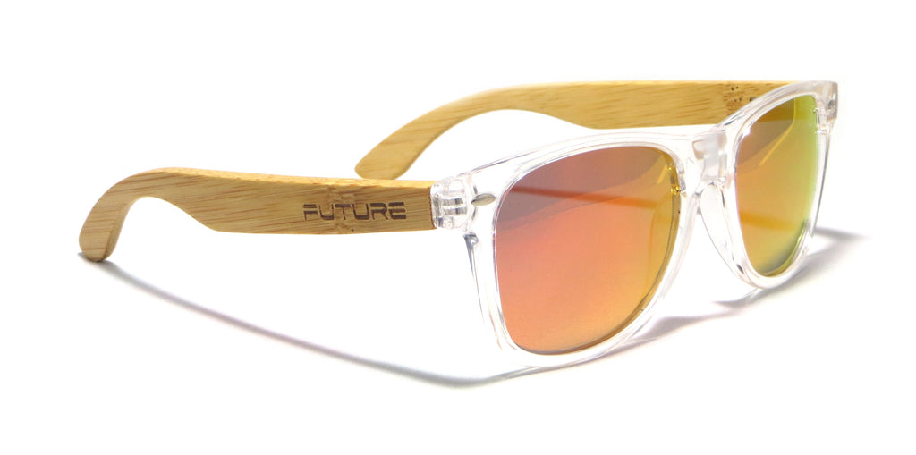 Translucent & Polarized Deep Red - Future Originals - Future-Wear - Carbon Sunglasses