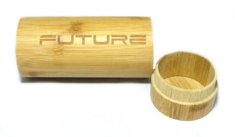 Future Bamboo Tube Case - Future-Wear - Carbon Sunglasses