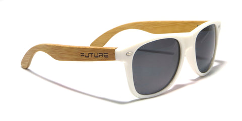 White & Polarized Midnight Black - Future Originals - Future-Wear - Carbon Sunglasses