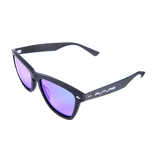 Carbon Fibre Combination Shades Polarized Cerulean Blue - Future Originals
