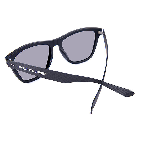 Carbon Fibre Combination Shades Polarized Steel - Future Originals - Future-Wear - Carbon Sunglasses