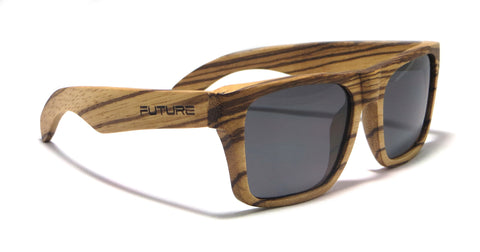 Full Zebra & Polarized Midnight Black - Future-Wear - Carbon Sunglasses
