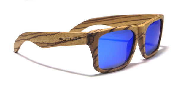 Full Zebra & Polarized Cobalt Blue