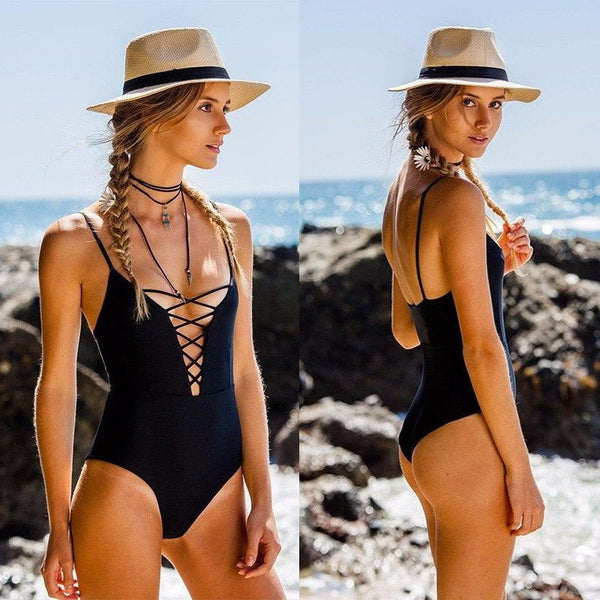 The Crisscross One Piece