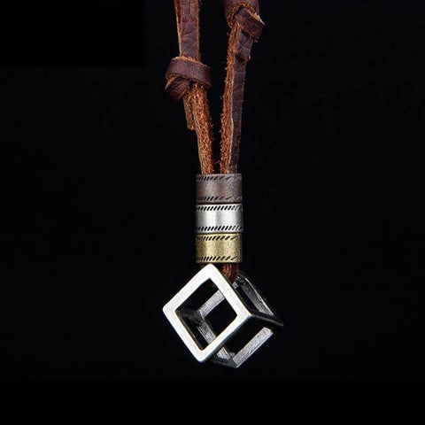 The Cube Necklace - The Moonlight Society