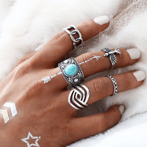 Free Spirit Ring Set