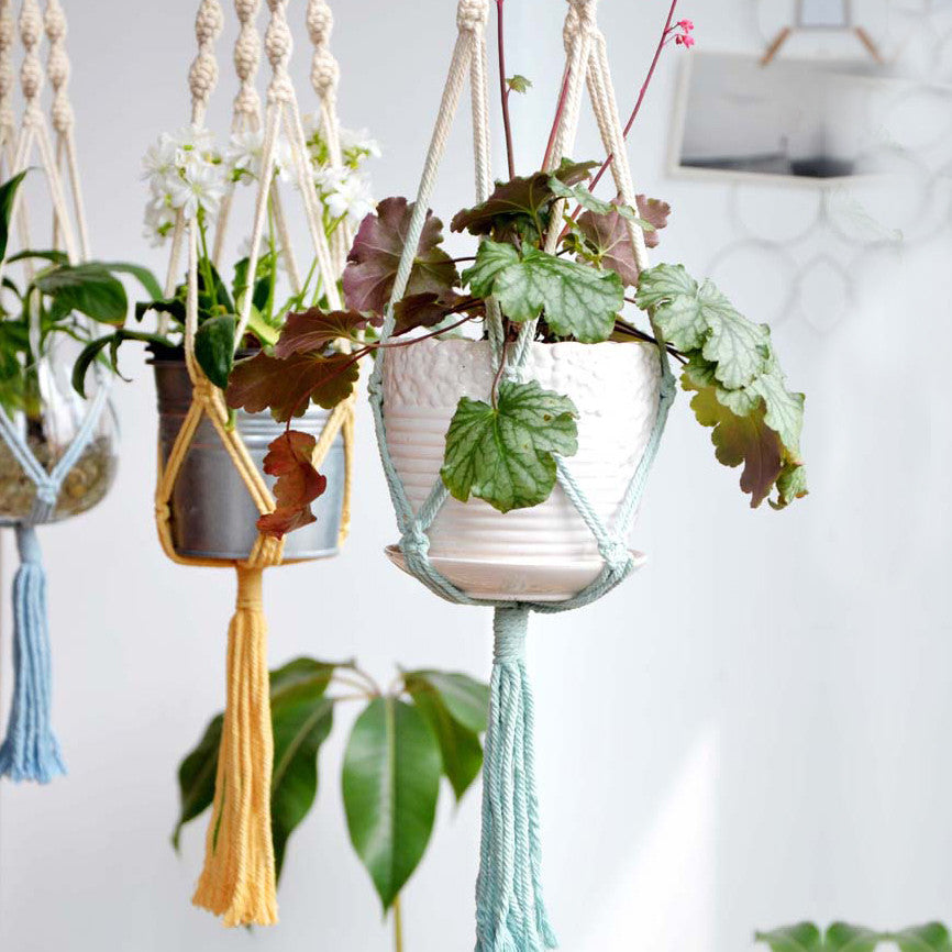 Ombre Macrame Plant Holder