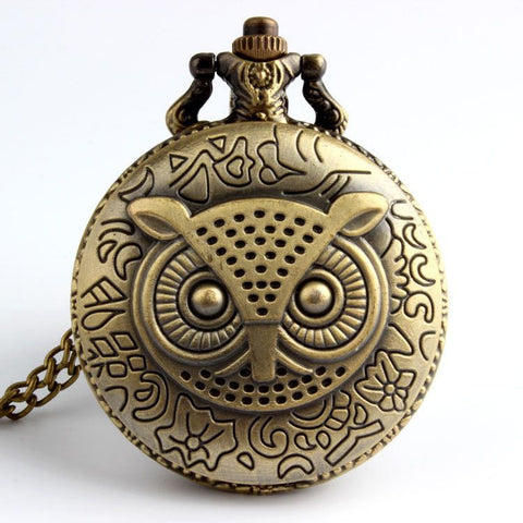 The Night Owl Pocket Watch - The Moonlight Society