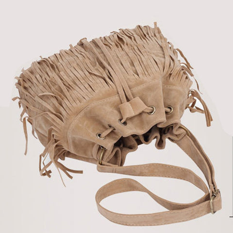The Fringe Shoulder Bag - The Moonlight Society