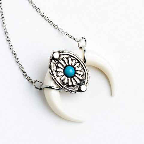 Wrapped Pendant Necklace - The Moonlight Society