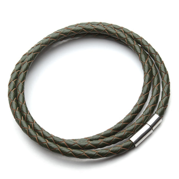 The Leather Cord Bracelet - The Moonlight Society