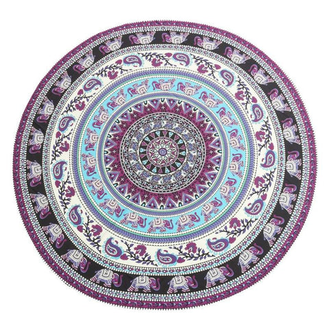 Purple Sunrise Tapestry