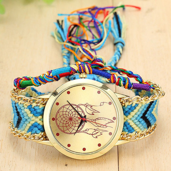 Handwoven Dreamcatcher Watch - The Moonlight Society
