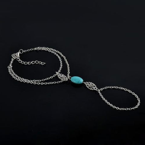 Turquoise Hand Chain