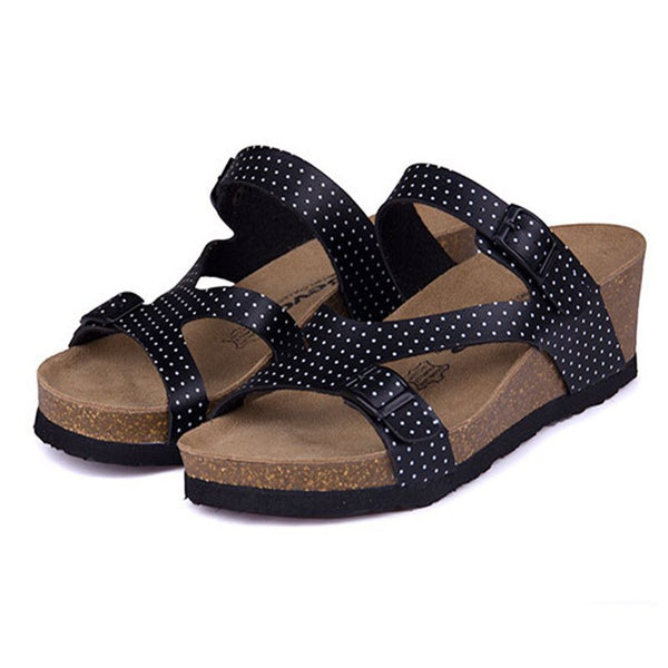 Morning Light Wedge Sandal - The Moonlight Society