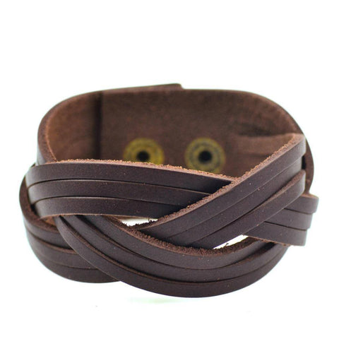 The Signature Leather Bracelet - The Moonlight Society