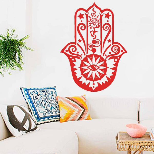Hamsa Wall Decal - The Moonlight Society