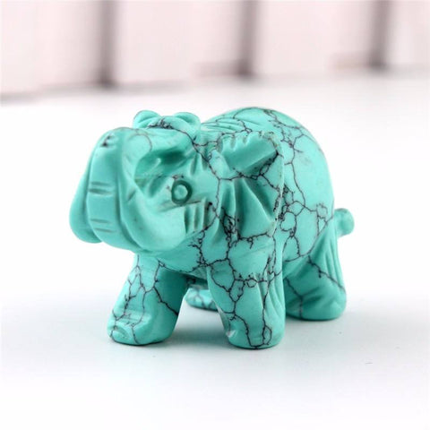 Carved Elephant Stone