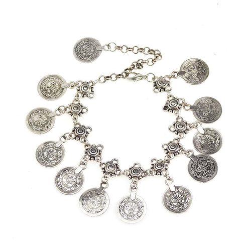 Gypsy Charm Anklet - The Moonlight Society