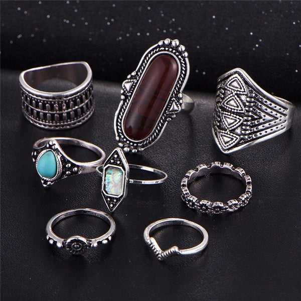 Bali Ring Set - The Moonlight Society