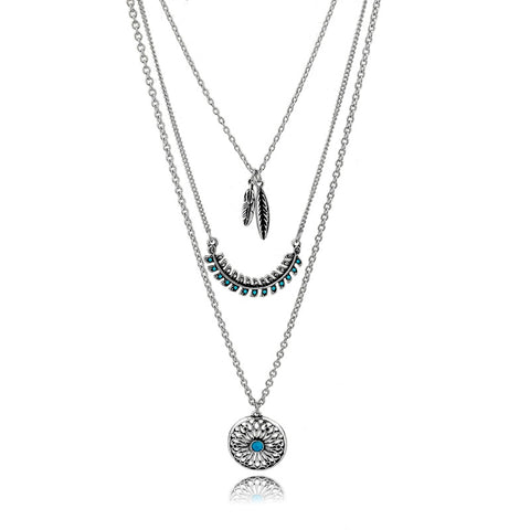 Hippie Traveler Necklace - The Moonlight Society