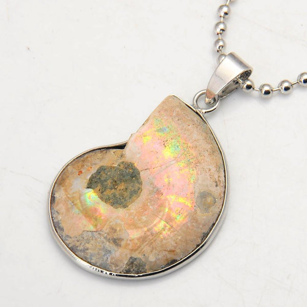 Ammonite Pendant Necklace - The Moonlight Society