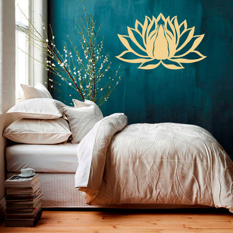 Serenity Lotus Wall Decal