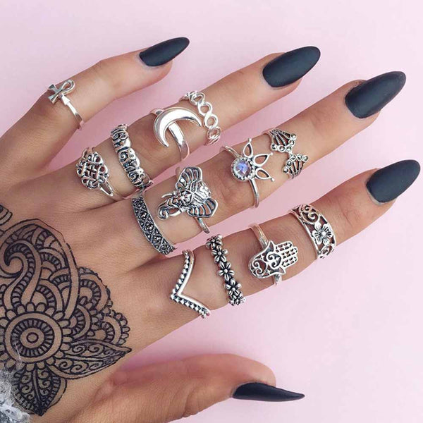 Bohemian Dream Ring Set