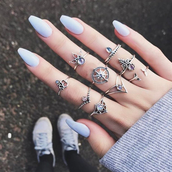 Dreamcatcher Ring Set
