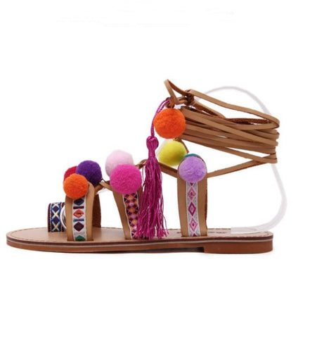 Summer Solstice Sandals - The Moonlight Society