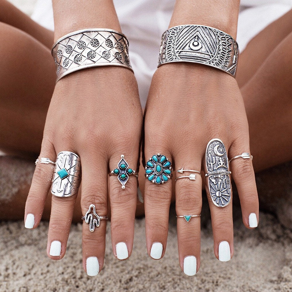 Santa Fe Ring Set - The Moonlight Society