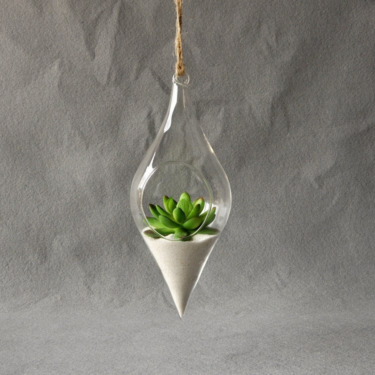 Earthen Hanging Terrarium - The Moonlight Society